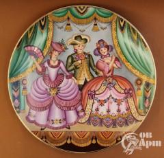 "Декоративная тарелка ""Театр"""